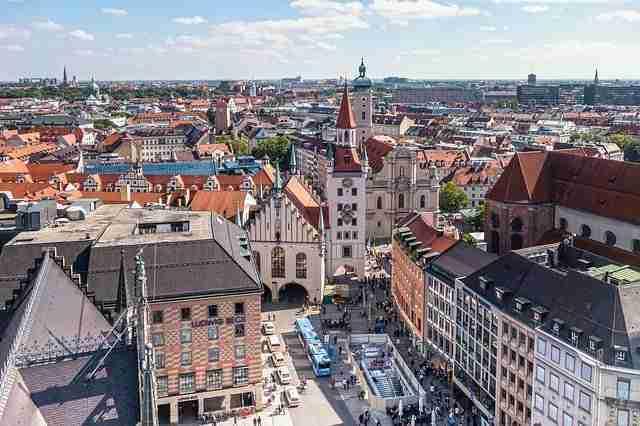 الدراسة والعيش في مدينة ميونخ الألمانية