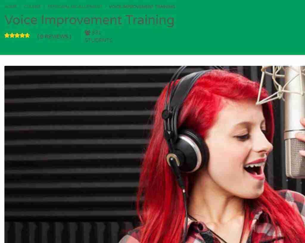 كورس Voice Improvement Training
