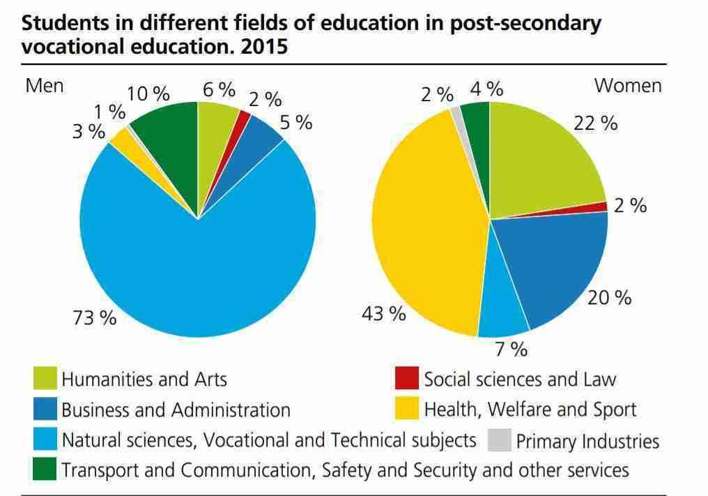 التعليم المهني العالي Tertiary vocational education في النرويج