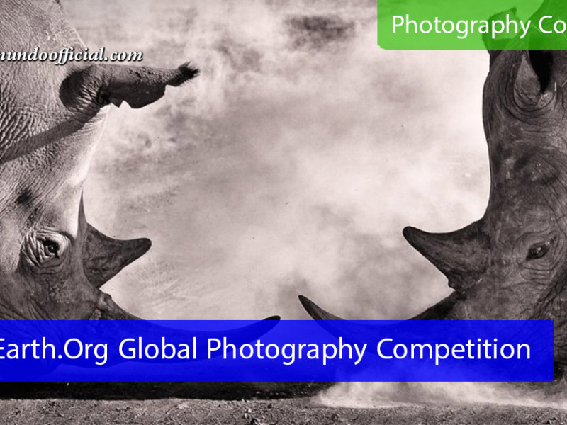 Earth.Org Global Photography Competition for photographers