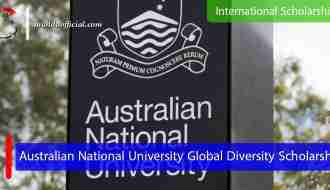 The Australian National University Global Diversity Scholarship