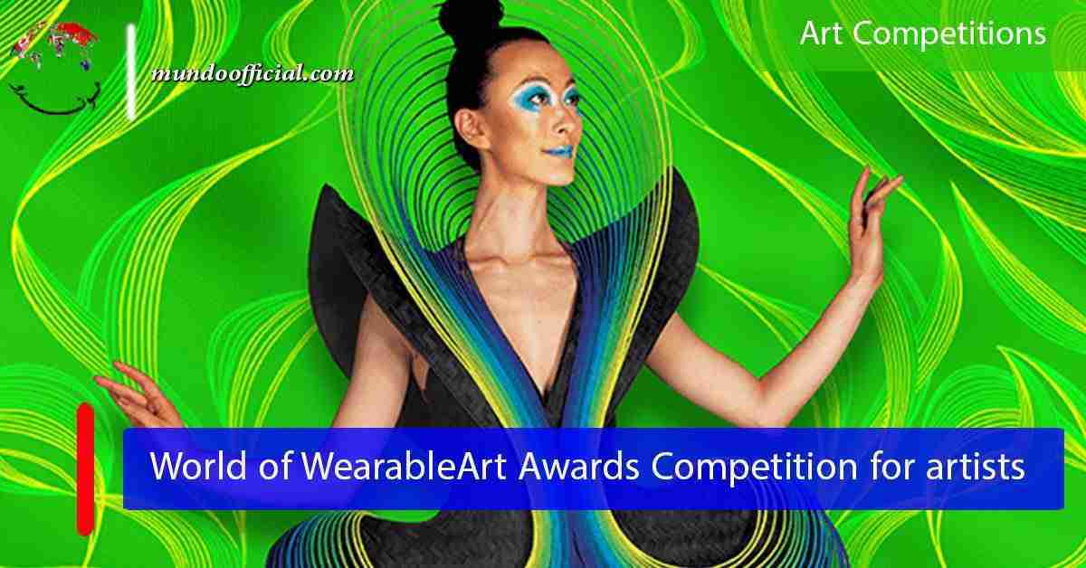2021 World of WearableArt Awards Competition for artists