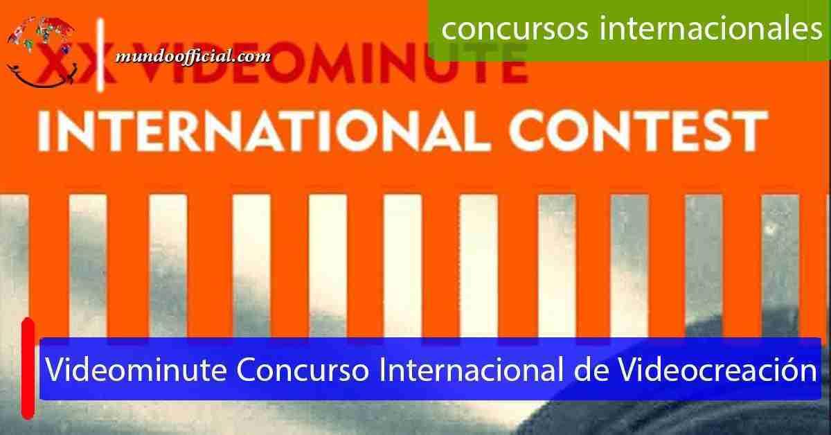 2021 XX Videominute Concurso Internacional de Videocreación