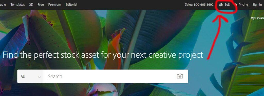 بيع الصور الفوتوغرافية على موقع Adobe Stock 1