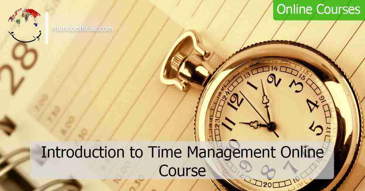 دورة مجانية بعنوان مقدمة في إدارة الوقت من منصة أليسون Alison